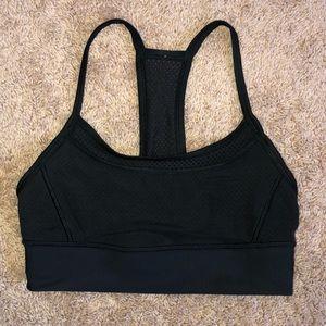 Black Lululemon Sports Bra Size 6